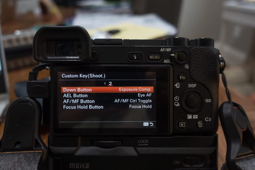 custom button menu 2 - how to shoot slow motion with sony a6500 - witandfolly.co