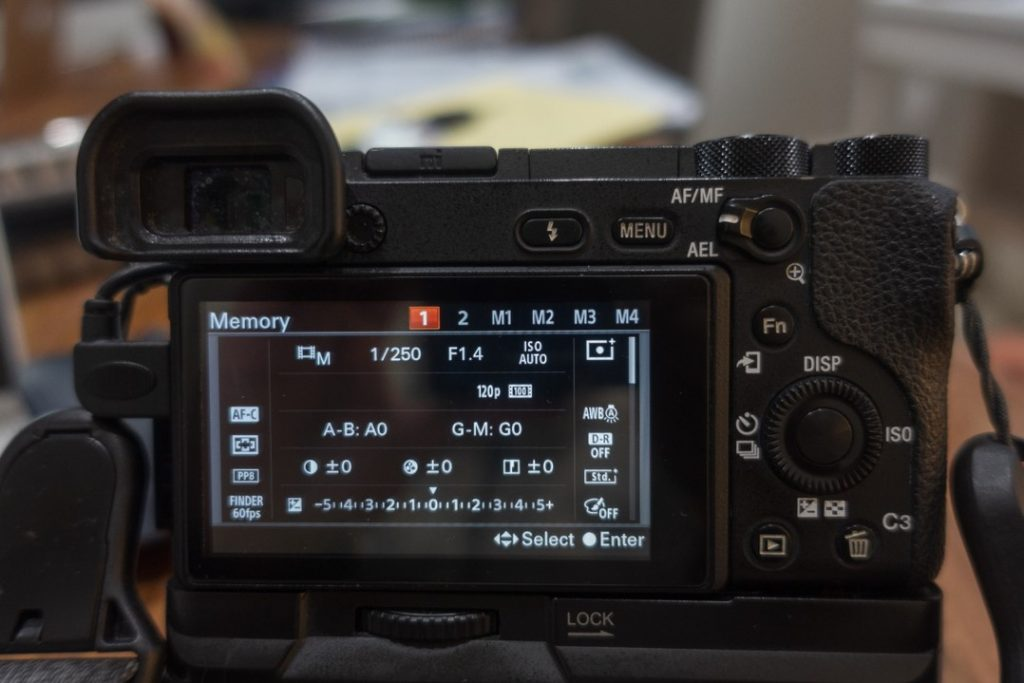 memory recall 120 fps menu - how to shoot slow motion with sony a6500 - witandfolly.co