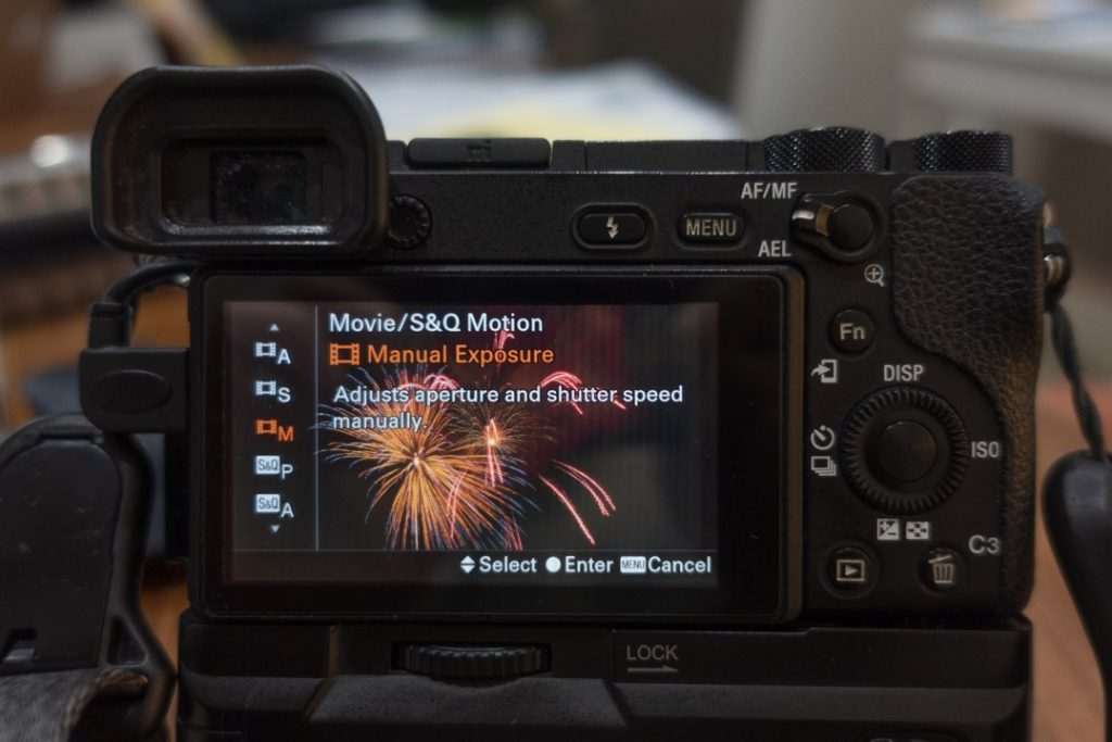 movie and S&Q manual exposure mode - how to shoot slow motion with a6500 - witandfolly.co