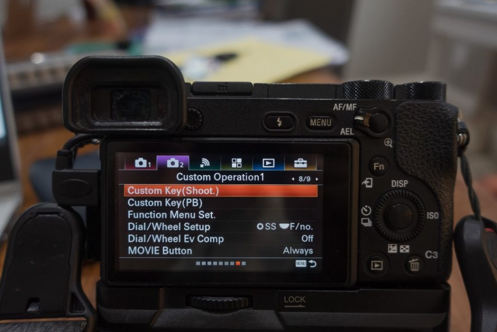 custom button menu - how to shoot slow motion with sony a6500 - witandfolly.co