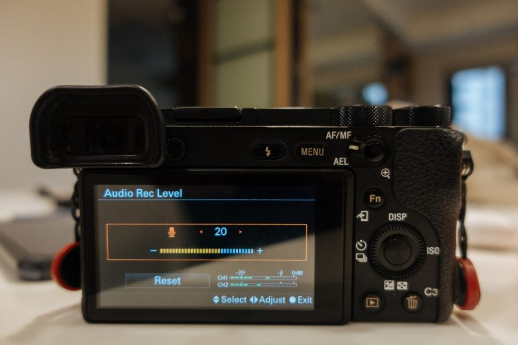 Audio Rec. Level Screen - sony a6500 audio settings - witandfolly.co