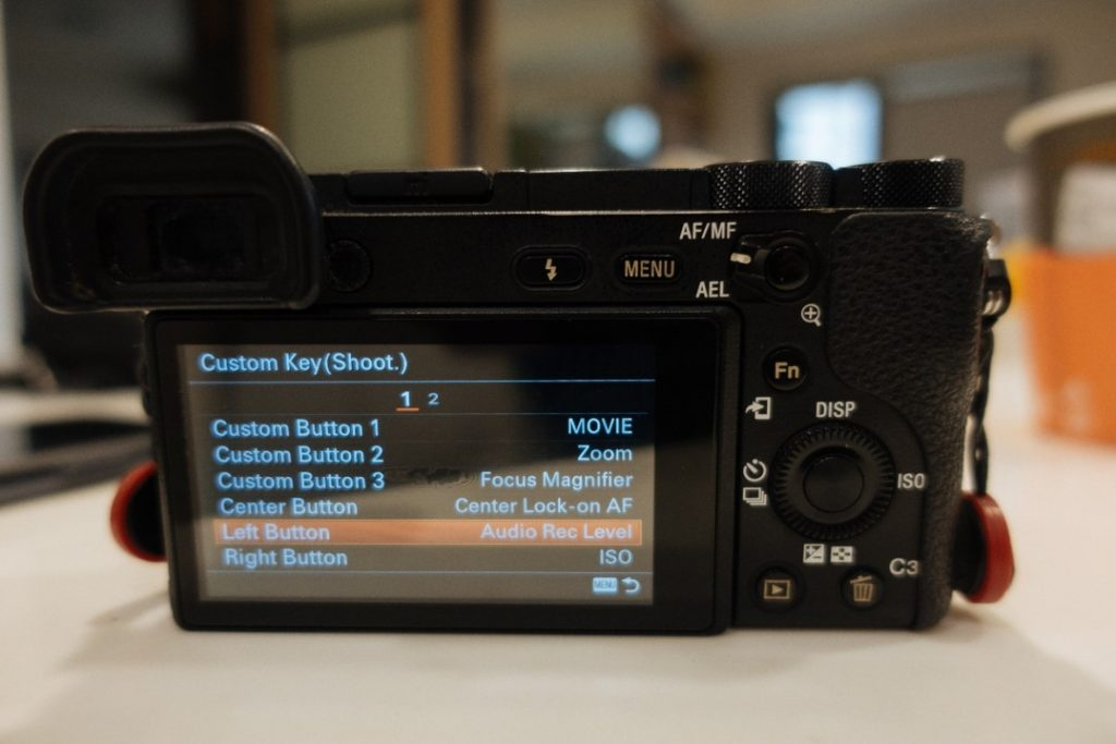 Custom Key Shoot Menu on Sony a6500 2 - sony a6500 audio settings - witandfolly.co