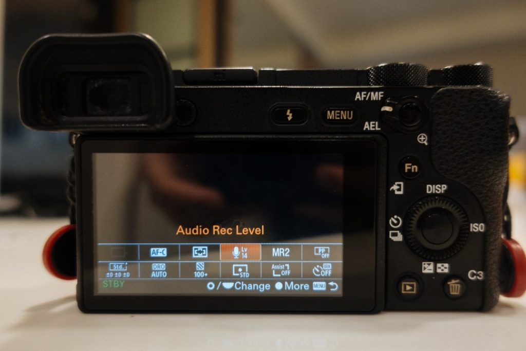 Function Menu on Sony a6500 - sony a6500 audio settings - witandfolly.co
