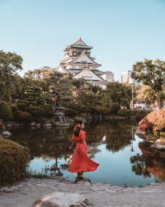 japanese garden osaka castle