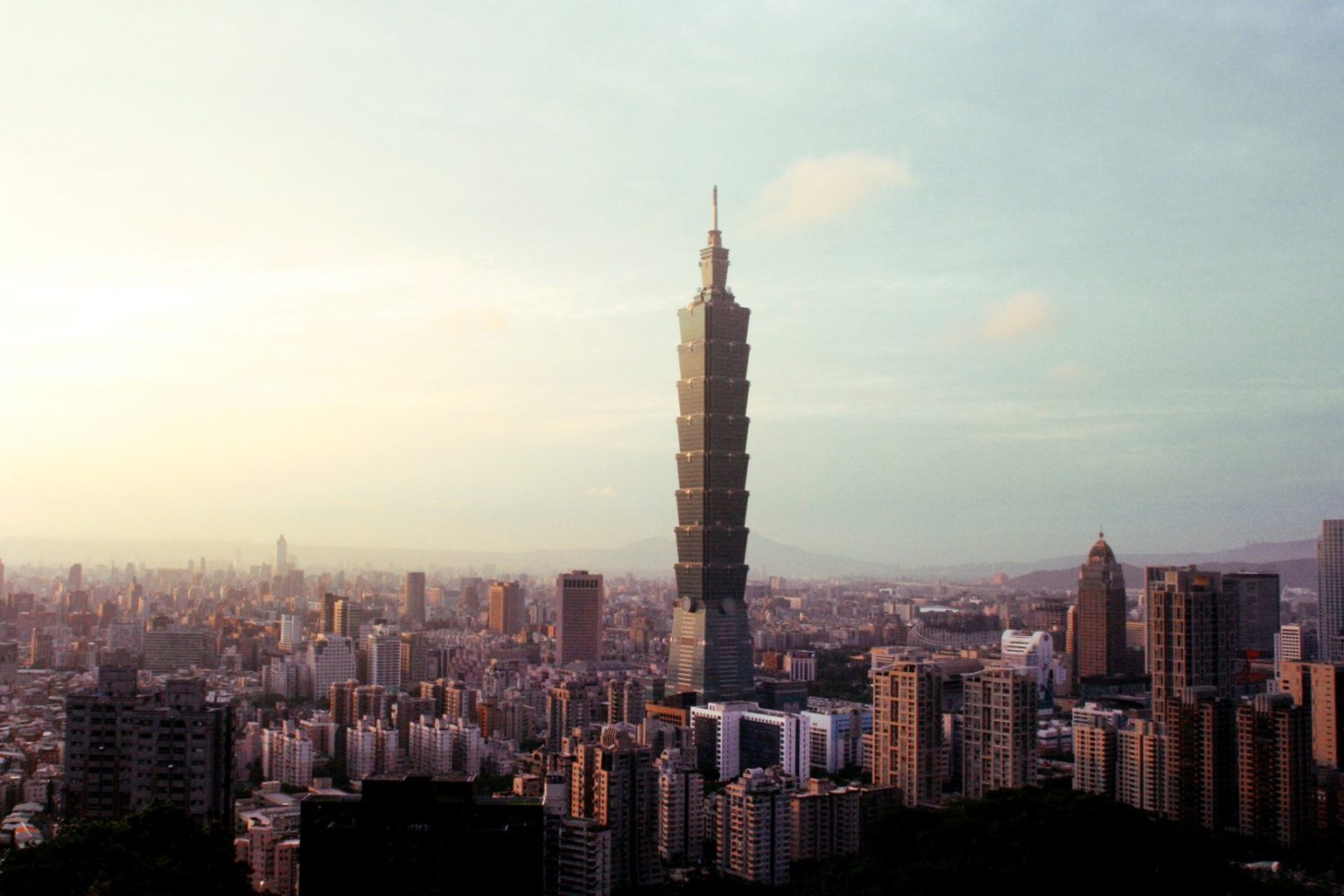 View of Taipei 101 in the Distance - witandfolly.co