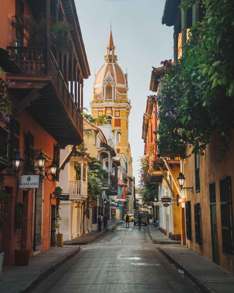 Beautiful Cartagena Streets During Sunrise - witandfolly.co-1