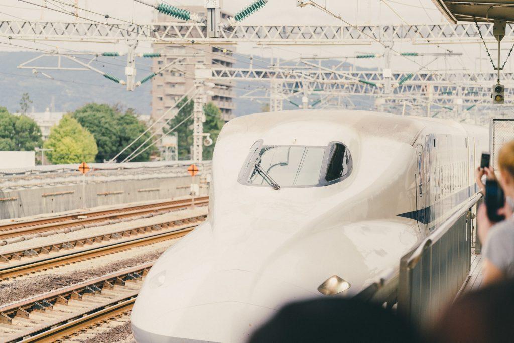 image of shinkansen in japan