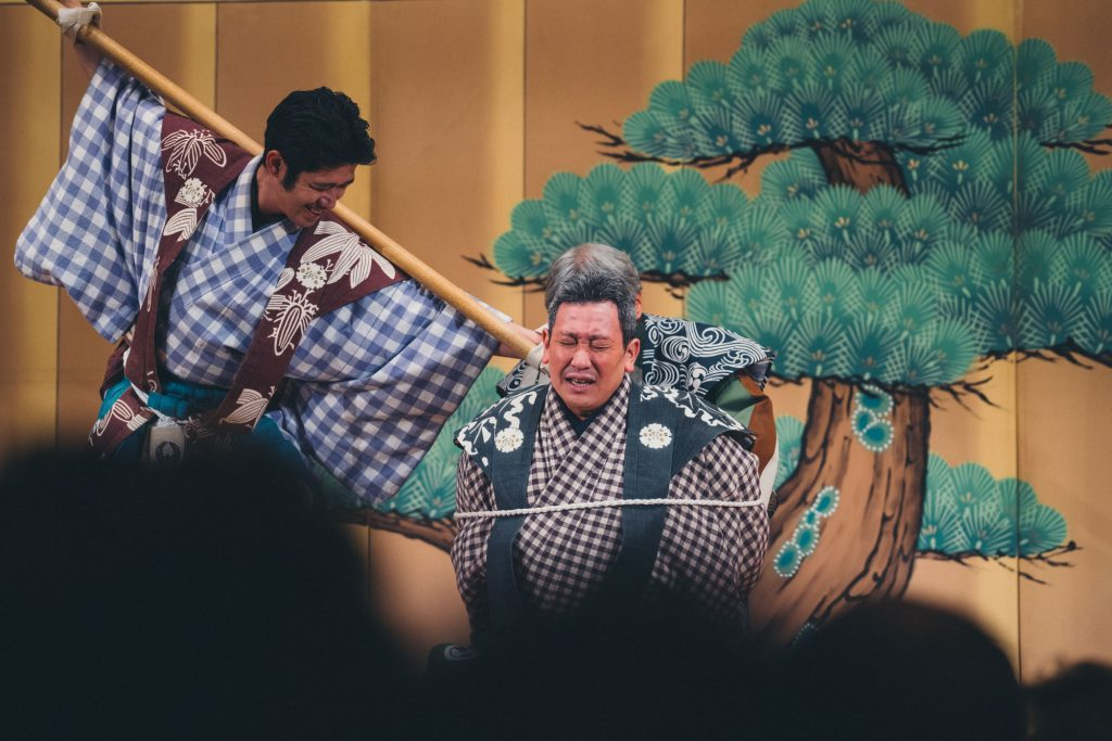 image of a theater performance in japan