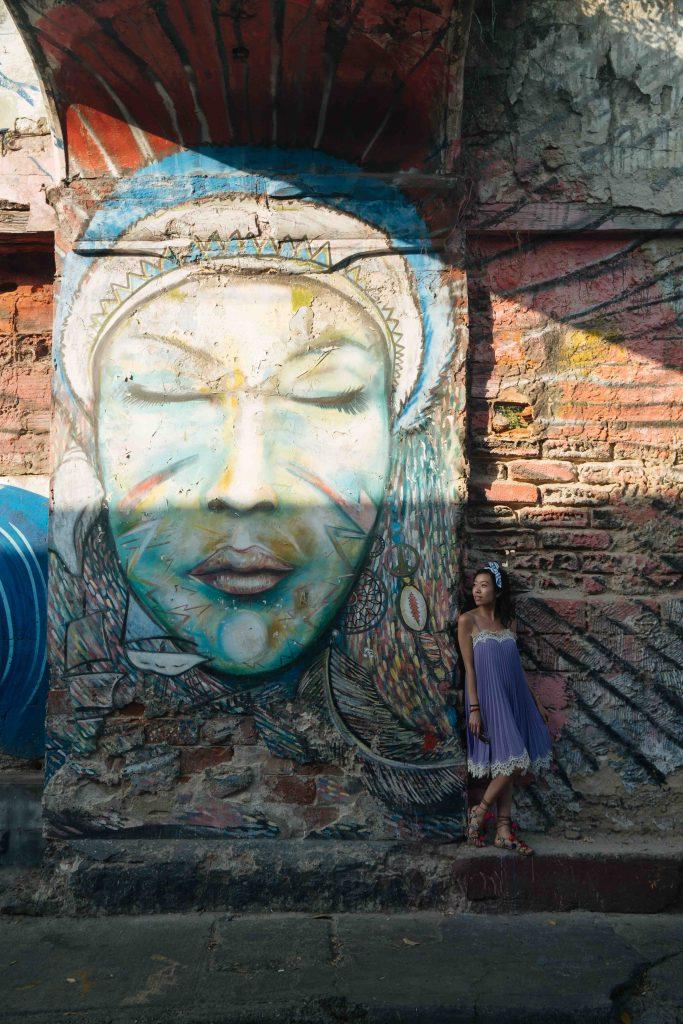 Mural in Getsamni Neighborhood of Cartagena 3 - witandfolly.co-1-1