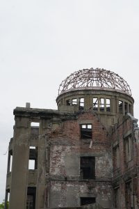 picture of a-bomb site in Hiroshima