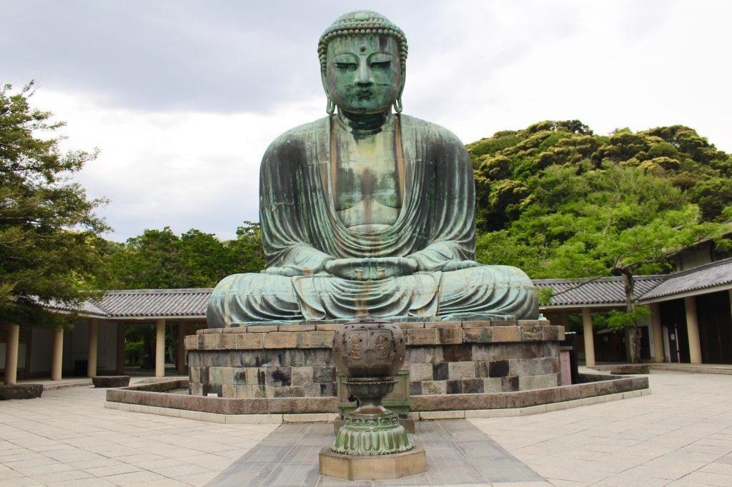 photo of great buddha at kamakura