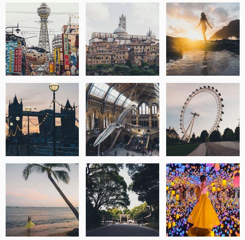 image of instagram grid