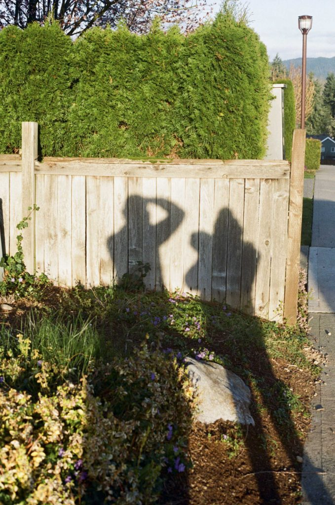 image of two peoples shadows