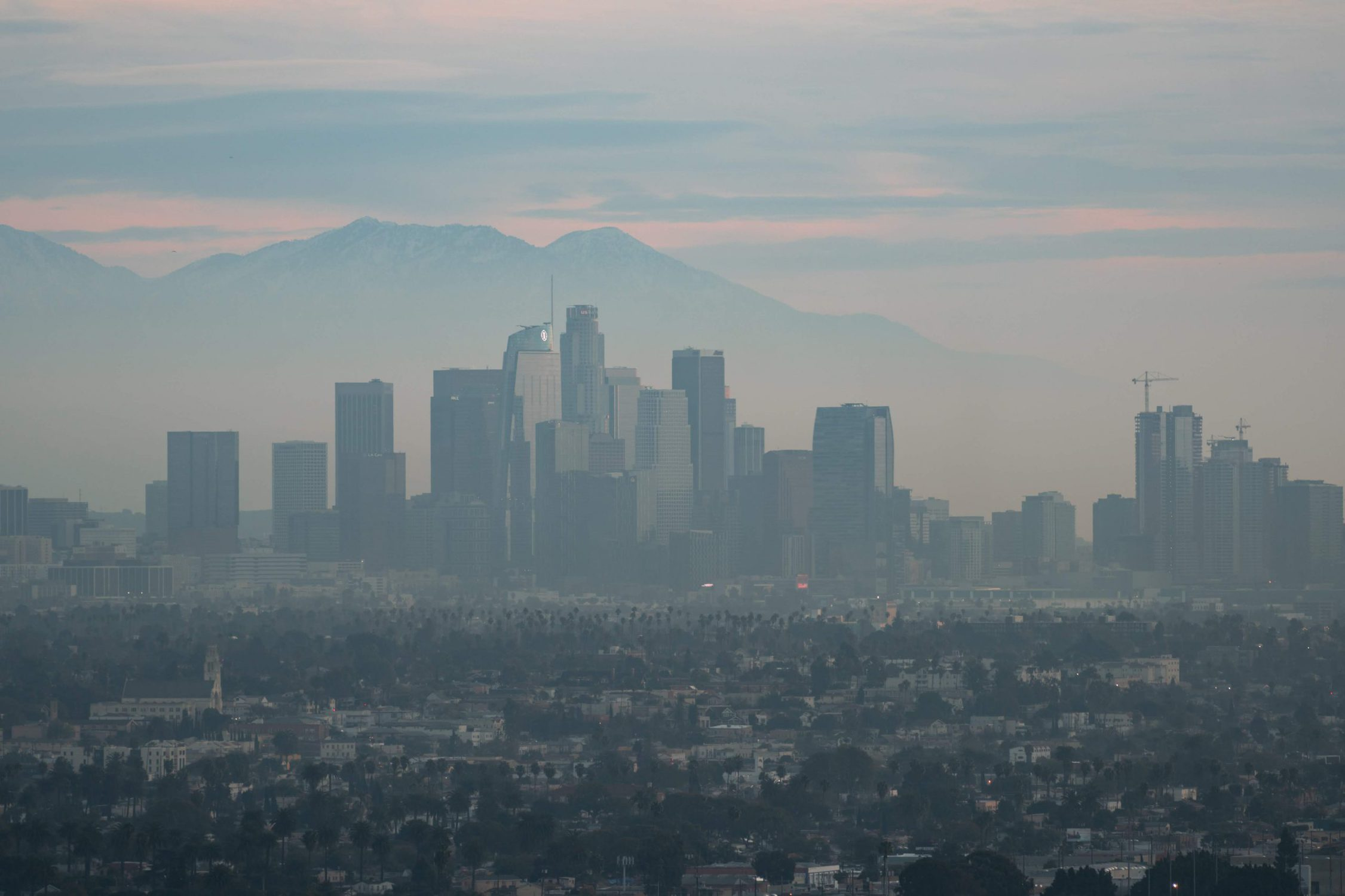 image of LA skyline