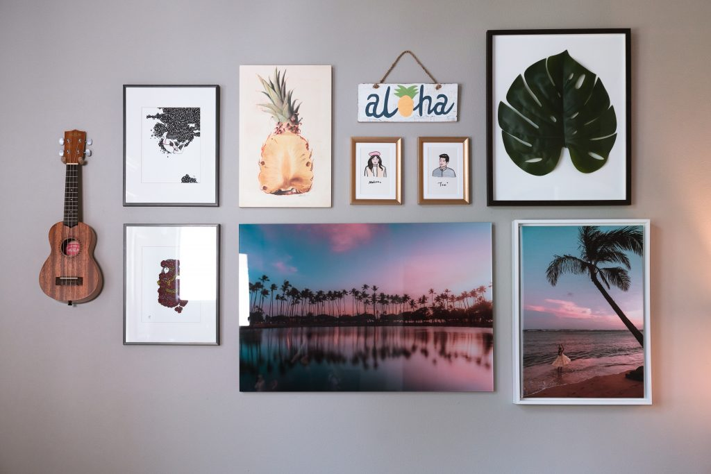 Wall gallery art