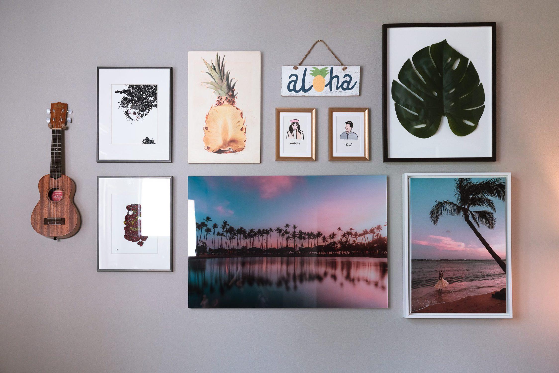 Wall gallery art