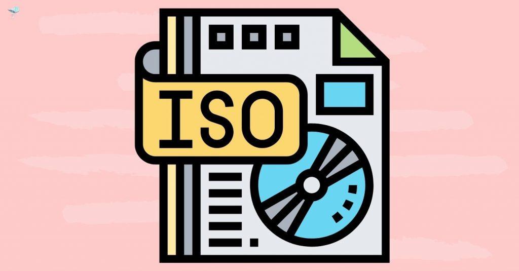 illustration of iso setting
