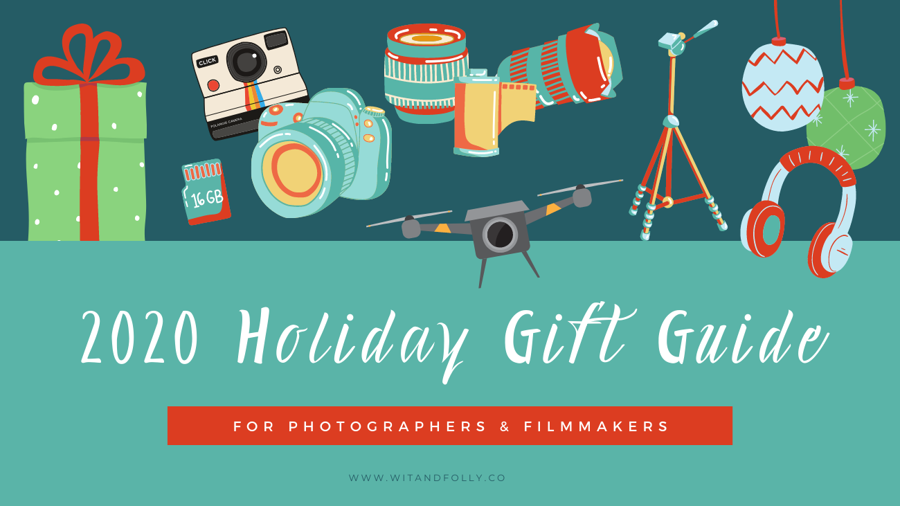 illustration of a holiday gift guide cover image