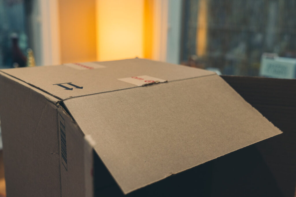 image of cardboard box