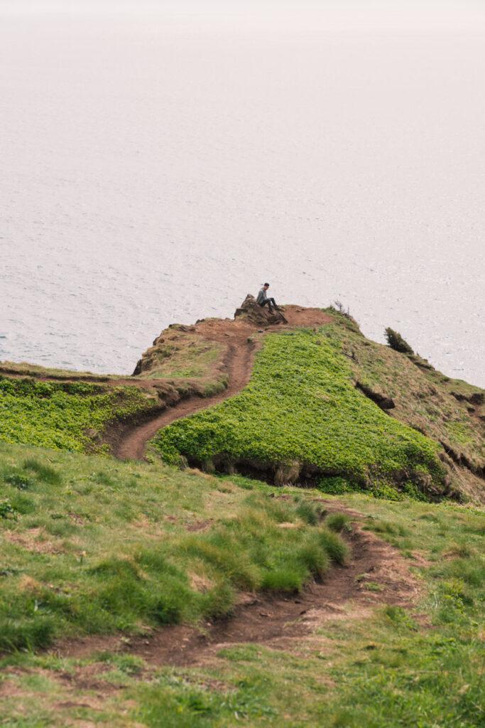 view of elk flats overlook trail